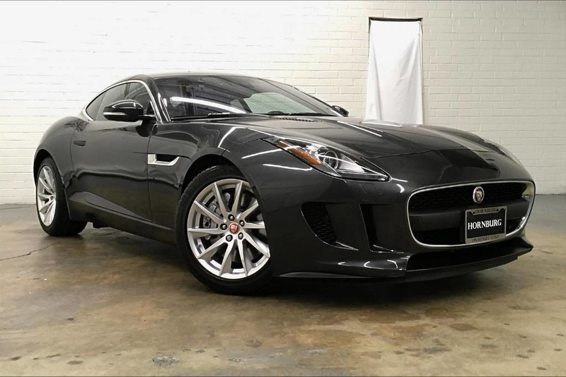 Jaguar F Type Coupe >> Pre Owned 2017 Jaguar F Type Rear Wheel Drive Coupe