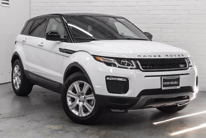 new 2018 land rover range rover evoque se premium suv in west hollywood r10248 hornburg land. Black Bedroom Furniture Sets. Home Design Ideas