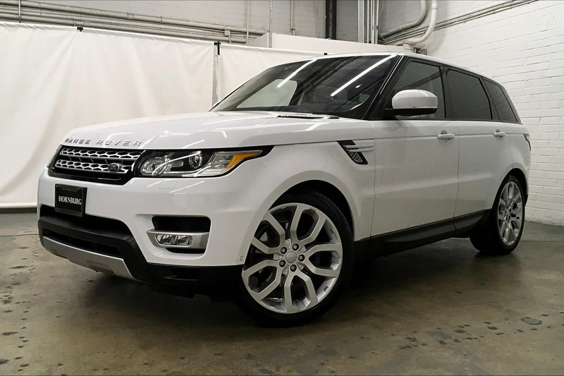 Hornburg Land Rover >> Certified Pre Owned 2016 Land Rover Range Rover Sport V6 Hse With Navigation